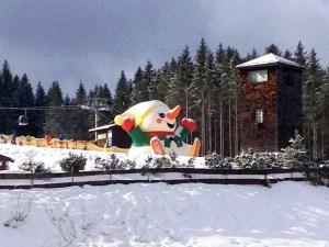 Zimi the snowman