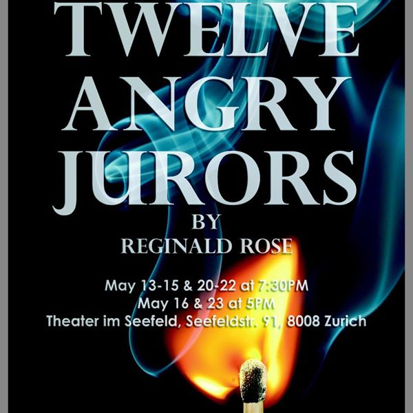 My upcoming production of Twelve Angry Jurors