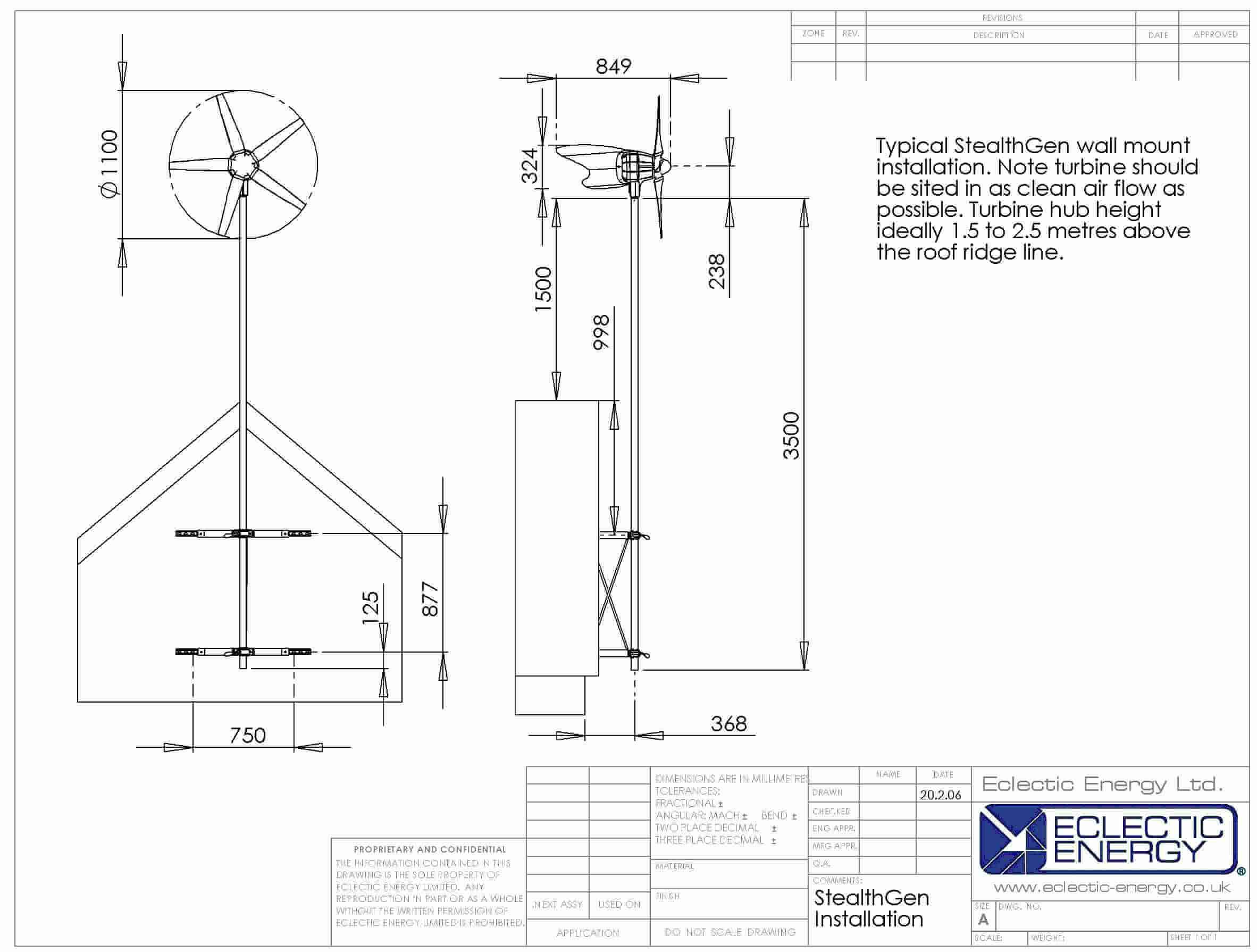 StealthGen – Grid Tie Wind Generator