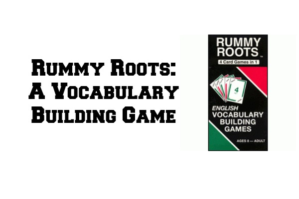 Rummy Roots: A Vocabulary Building Game