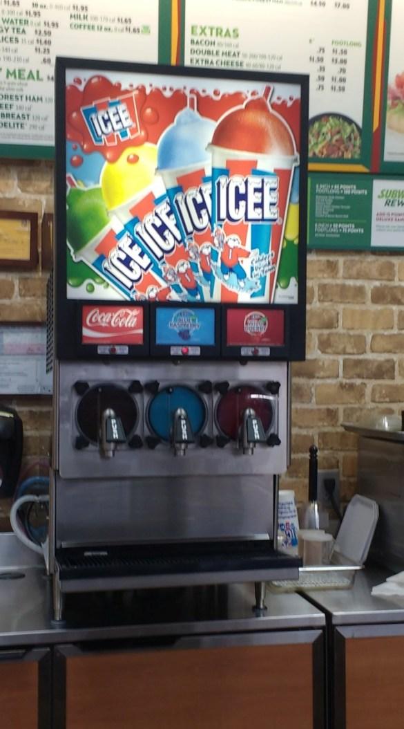 Summer's ICEE Guide: ICEE Machine At Walmart #4183 (Harvey Mitchell/2818)