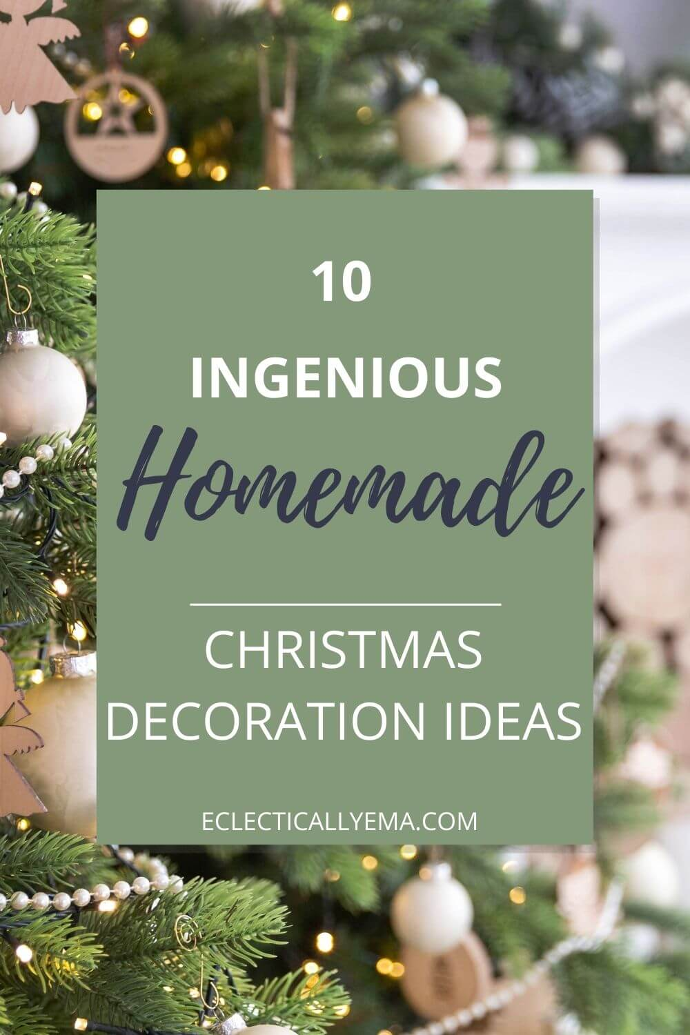10 Easy Homemade Christmas Decoration Ideas Your Kids Can Help With