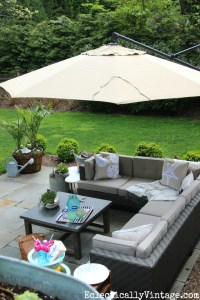 Patio Makeover - Beautiful Outdoor Oasis