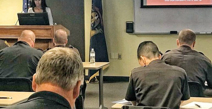 Lia Jamerson Trains Oakland County Sheriffs and Police Officers on Bipolar Disorder