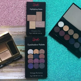Eclectic Chic's Sleek Makeup Influenster VoxBox Review