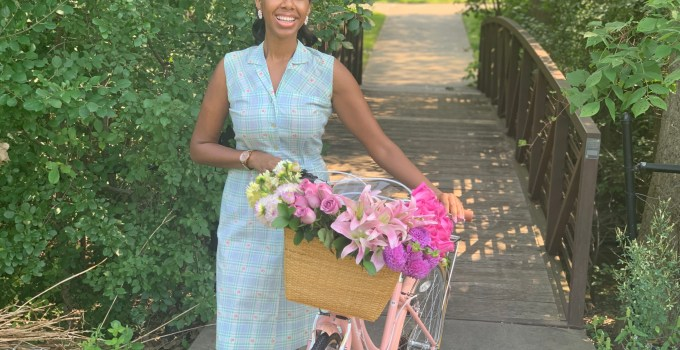 Eclectic Chic's New Summertime Vintage Bike