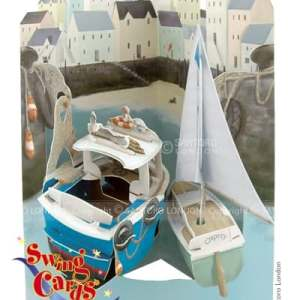 Santoro London Harbour 3D Pop-Up Swing Card