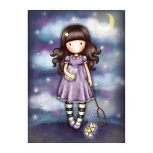 Santoro London - Catch a Falling Star Greeting Card (Gorjuss)