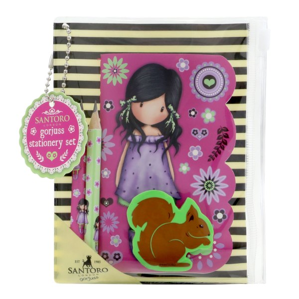 Gorjuss Fiesta Mini Stationery Set You Brought Me Love