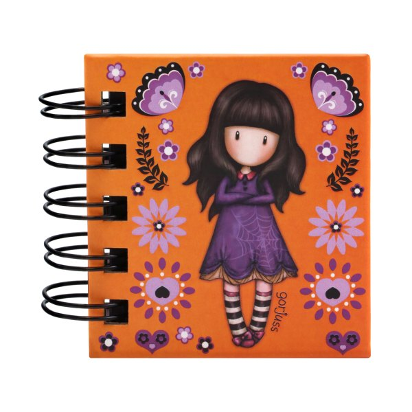 Gorjuss Fiesta Sticky Notes Book Cobwebs