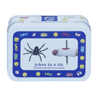 Gift in a Tin – Jokes in a tin – Mini Tin