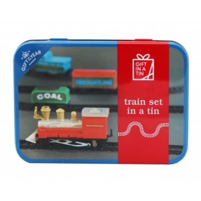 Gift in a Tin – Train Set in a Tin – Original Tin