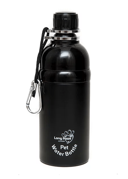 Dog Water Bottle (Black) 500ml