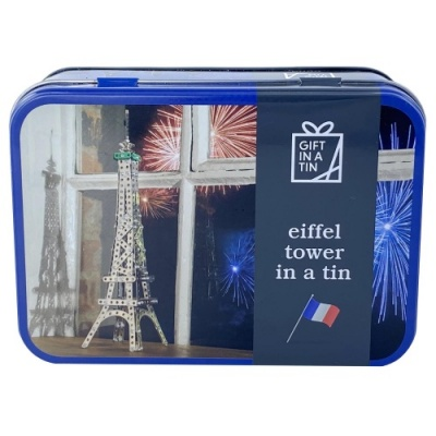 Gift in a Tin – Eiffel Tower in a Tin – Original Tin