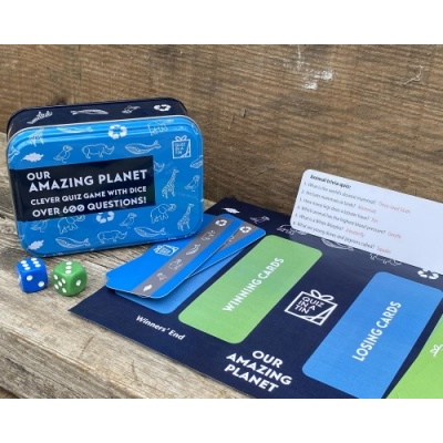 Gift for Grown-Ups – Quiz in a Tin – Our Amazing Planet