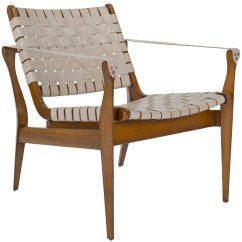 Leather Safari Chair Replacement Gas Cylinder For Office Uk Woven White Eclectic Goods