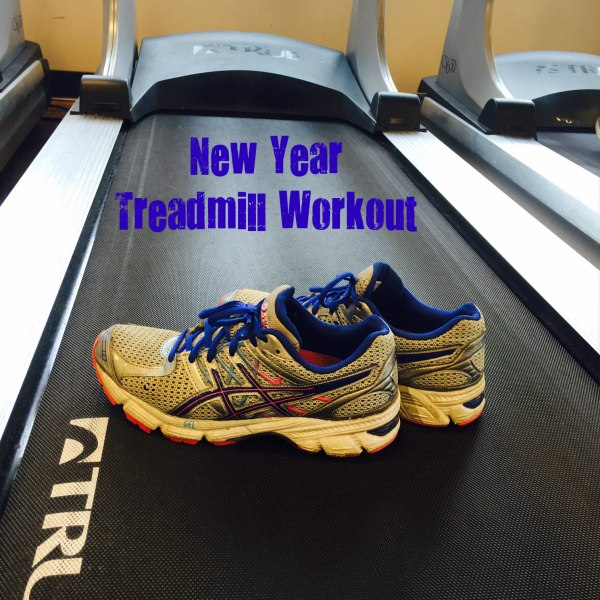 new year treadmill workout