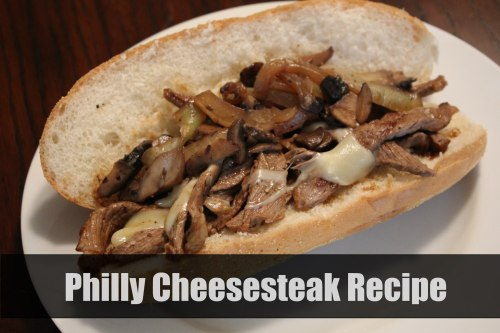 Homemade Philly Cheesesteaks