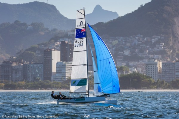Sailing is a very unique and challenging sport from the looks of it.
