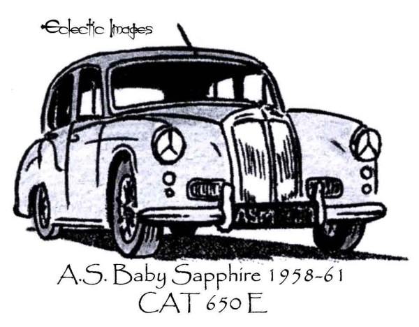 Armstrong Siddeley Baby Sapphire 1958-61