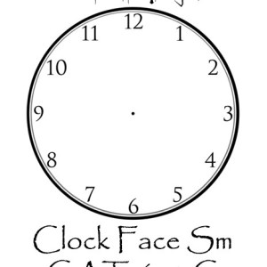 Clock Face Small