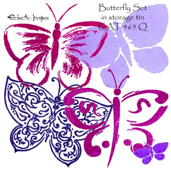 Butterfly Set in storage tin