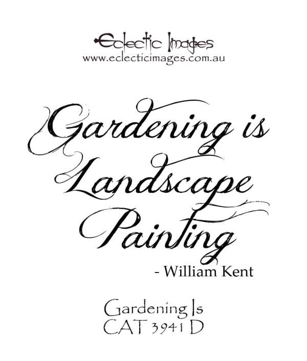 Gardening Is