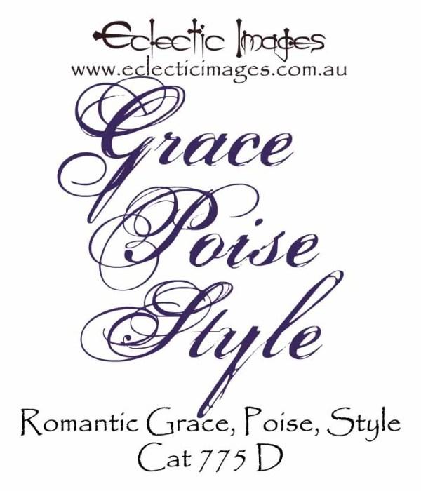 Romantic Style Grace Poise