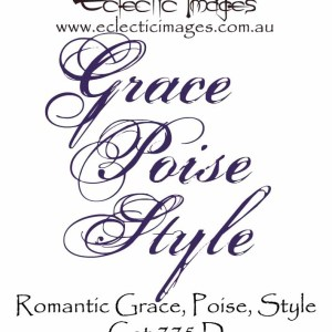 Romantic Style Grace Poise
