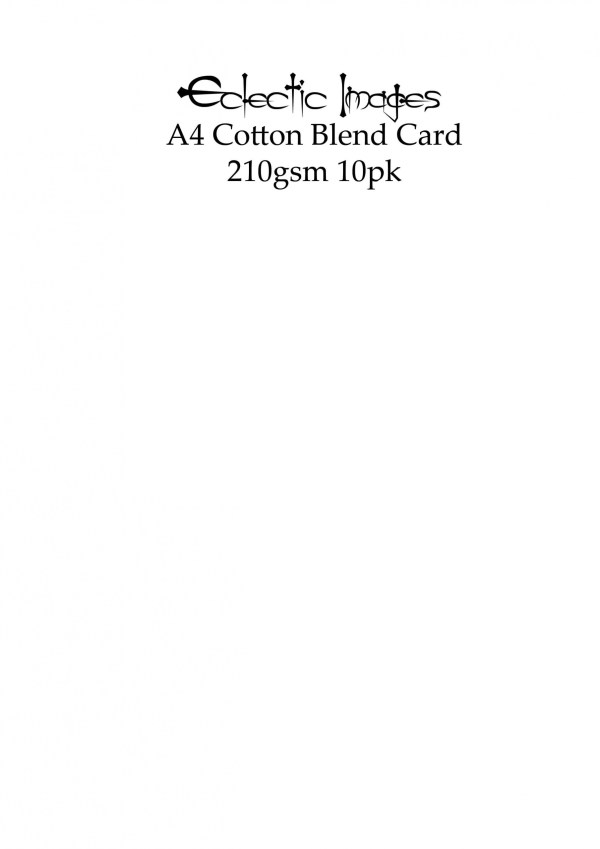 A4 Cotton Blend cardstock