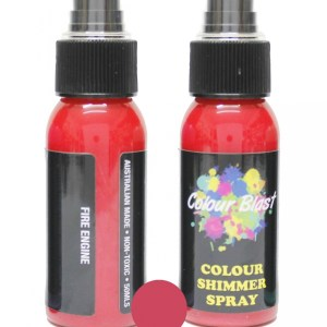 Colour Blast Shimmer Spray Fire Engine