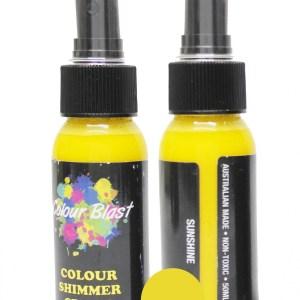 Colour Blast Shimmer Spray Sunshine