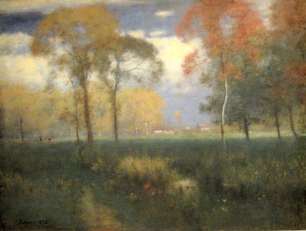 George Inness Autumn Sunny Day