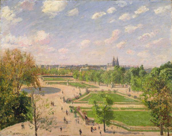 Tuileries Garden Painting