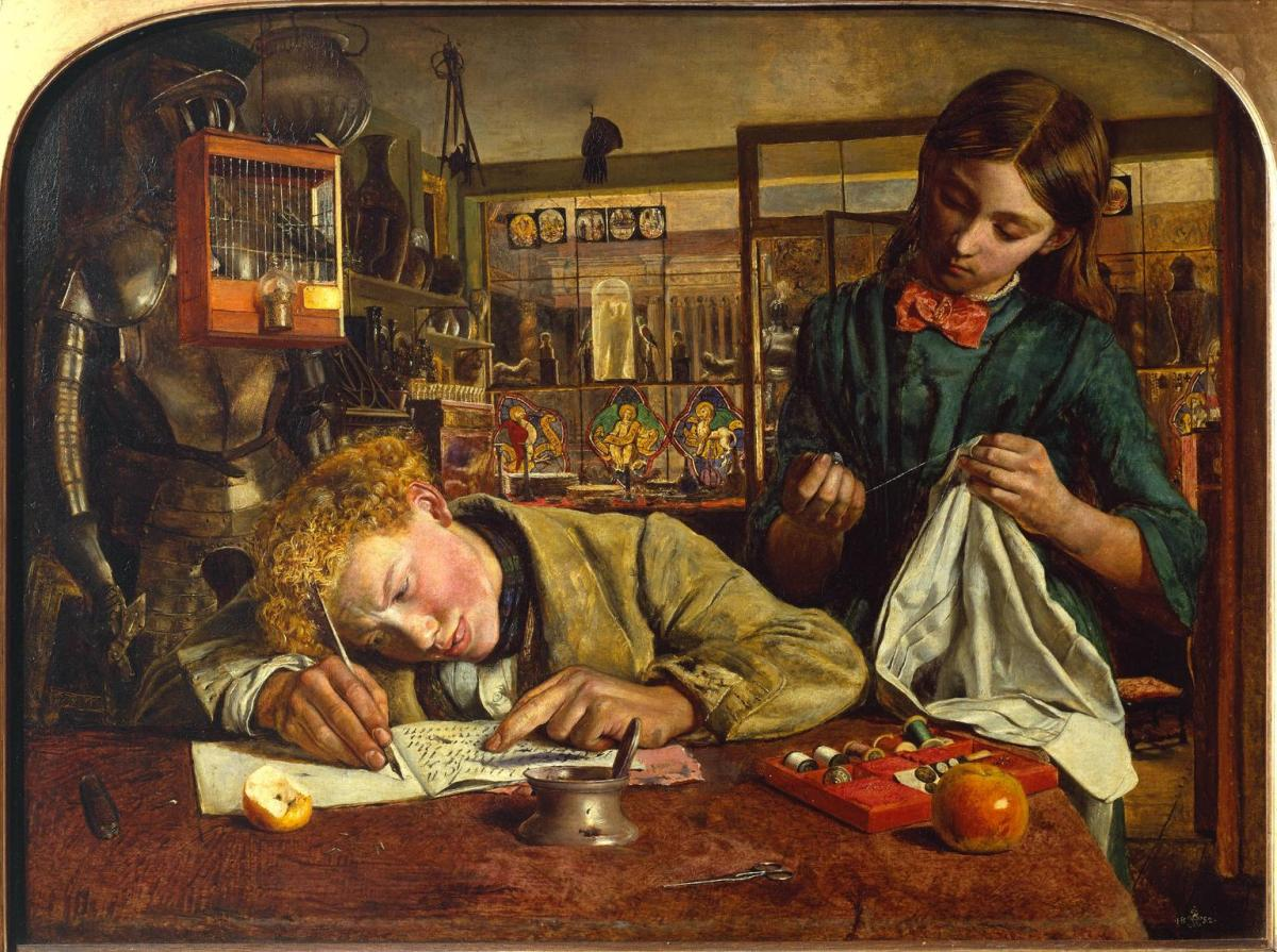 Story In Paintings Dickens Eclectic