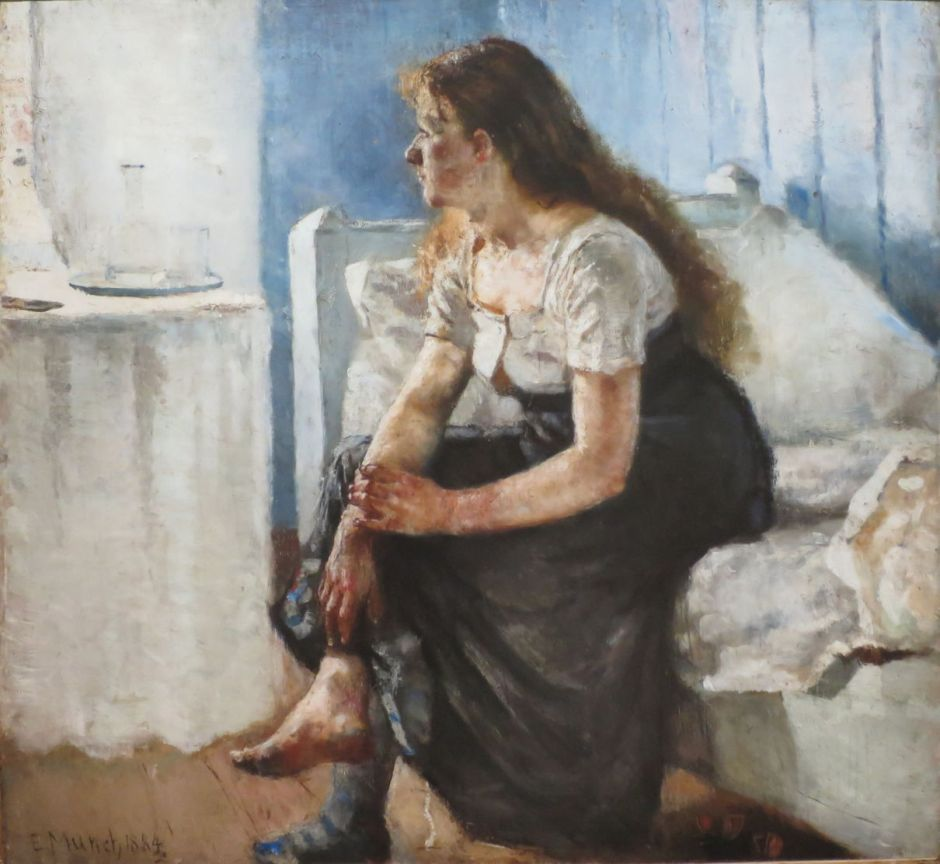 Edvard Munch Life In Paintings 1884-1892 Eclectic