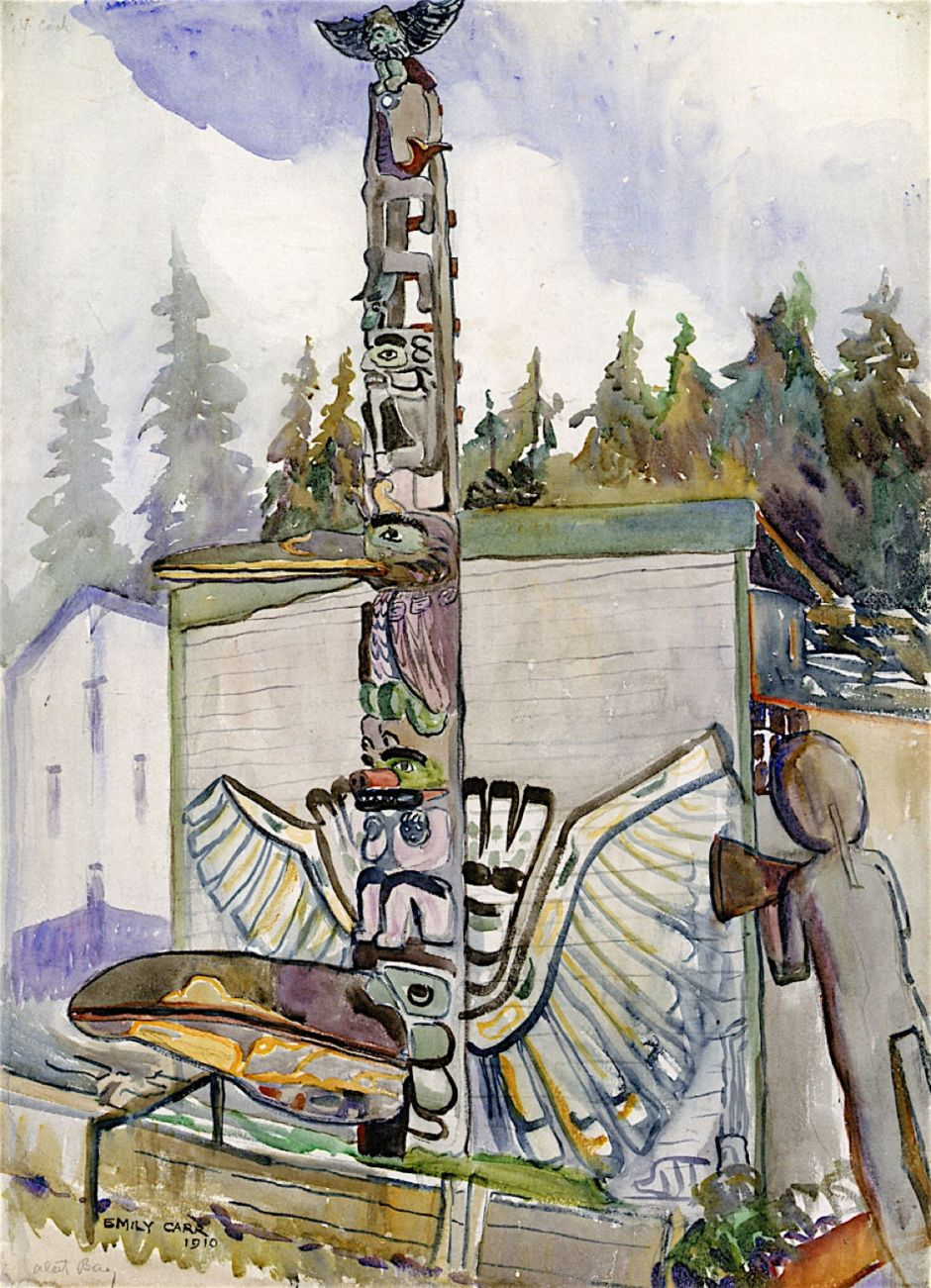 Totems And Trees Emily Carr Paintings 1892-1911