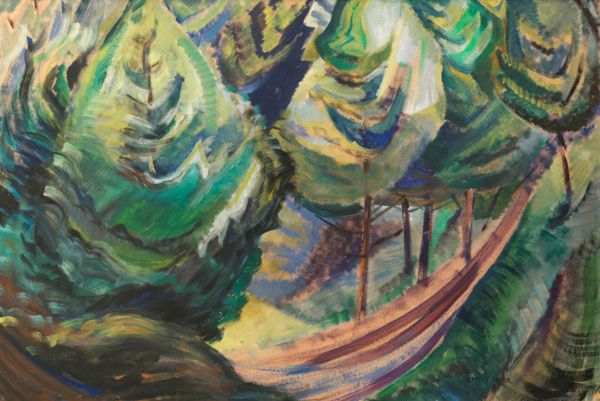 Totems And Trees Emily Carr Paintings 1914-1930
