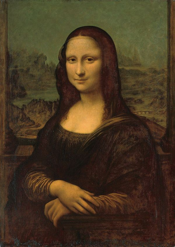 Leonardo Da Vinci Paintings Mona Lisa Location