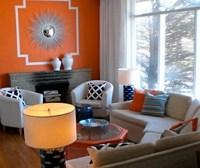 Teal And Orange Living Room Decor