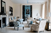 Color Scheme: Black and Blue | ECLECTIC LIVING HOME