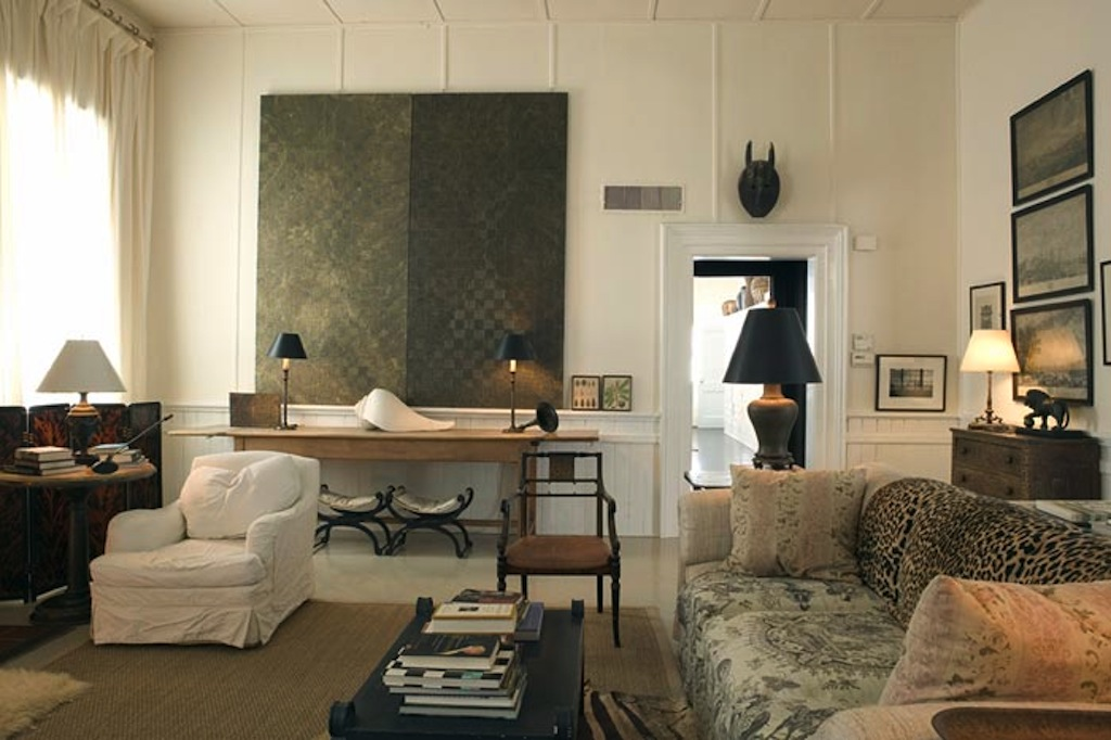 Color Scheme Grey and Beige  ECLECTIC LIVING HOME