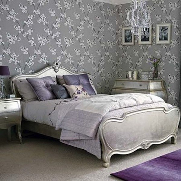 Color Scheme: Purple and Silver