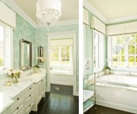 mint-green-white-bathroom-classic-traditional | ECLECTIC ...