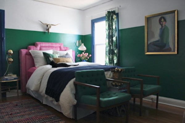 emerald green bedroom paint colors Color Scheme:Emerald Green and Sapphire Blue | ECLECTIC
