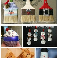 Roundup of Handmade Christmas Ornaments from Recycled Materials