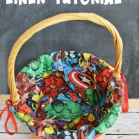 DIY Marvel Easter Basket Liner Tutorial