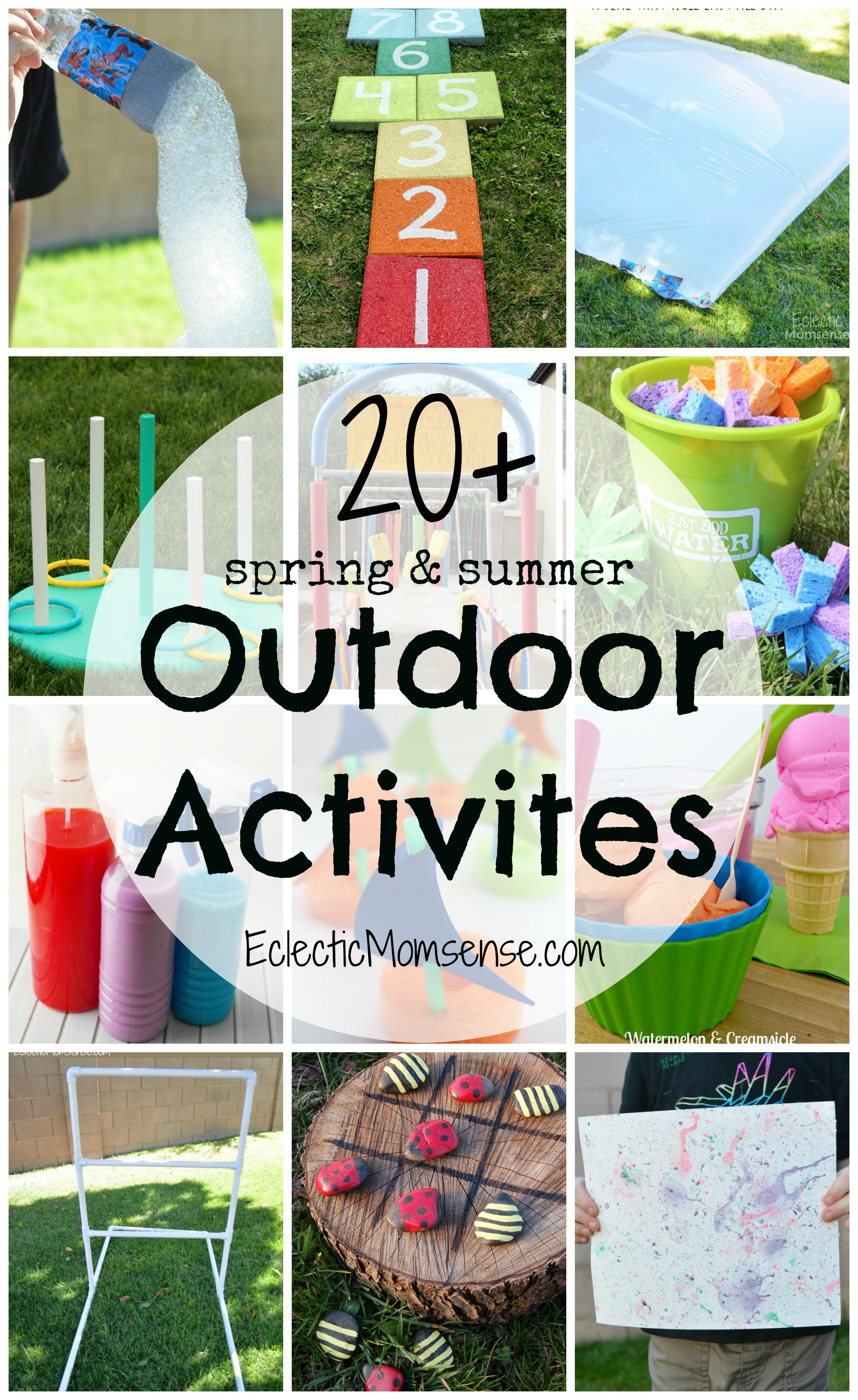 20 Spring And Summer Outdoor Activities For Kids
