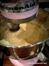 Mixer puffing away
