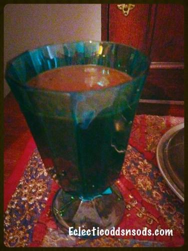 Raw chocolate and raw cherry chocolate kale smoothie (dairy, gluten, grain and sugar free)